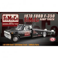 "1/18 FORD F-350 CAMION PLATEAU 1970 ""FOMOCO - GENUINE FORD PARTS""ACME1801408"