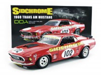 1/18 FORD TRANS AM MUSTANG 102 JIM RICHARDS 1969 SIDCHROME-ACME1801829