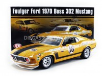 "1/18 FORD MUSTANG BOSS 302 TRANS AM 16 GEORGE FOLLMER ""FOULGER FORD"" 1970-ACME1801835"