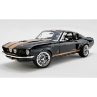 1/18 FORD MUSTANG GT500 - STREET FIGHTER 1967-NOIR/OR-ACME 1801837