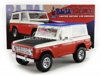 "1/18 FORD VEHICULES MINIATURE DE COLLECTION FORD BRONCO ""BILL STROPPE EDITION"" 1971-ACME51173"