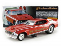 1/18 FORD MUSTANG FUNNY CAR - VELS PARNELLI JONES-Rouge-ACME CP7496