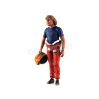 1/18 FIGURINE MINIATURE DE COLLECTION FIGURINE JAMES HUNT-FLM118024