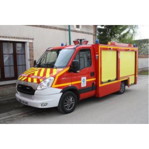 1 43 camion de pompiers iveco daily s d i s 51 secours routier alerte0060 vente de voitures. Black Bedroom Furniture Sets. Home Design Ideas