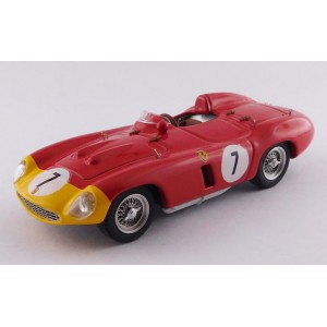 1/43 FERRARI VOITURE MINIATURE DE COLLECTION Ferrari 857 S #7 5ème 1000KM Paris/Monthlery-1956-ARTMODELART401