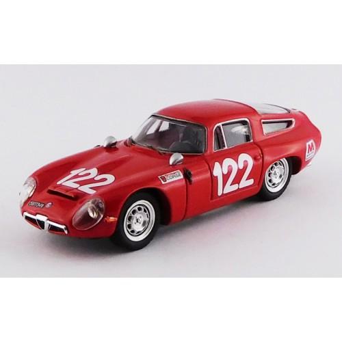 1/43 VOITURE MINIATURE DE COLLECTION Alfa Romeo TZ1 #122