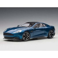 1/18 ASTON MARTIN VOITURE MINIATURE DE COLLECTION ASTON MARTIN VANQUISH S 2017 BLEU-AUTOARTAUT70274