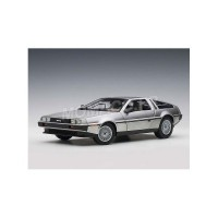1/18 DELOREAN VOITURE DE CINEMA MINIATURE DE COLLECTION DE LOREAN DMC-12 1981 SATIN-AUTOARTAUT79916