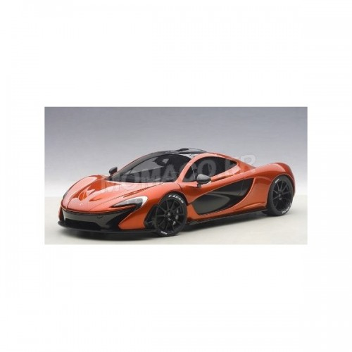 1 18 voiture miniature de collection mclaren p1 orange metal auto art aut76022 vente de. Black Bedroom Furniture Sets. Home Design Ideas