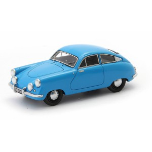1/43 VOITURE MINIATURE DE COLLECTION Siop Marathon Corsair bleu - France-1953-AUTOCULTATC02003
