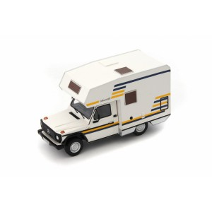 1/43 VEHICULES MINIATURE DE COLLECTION CAMPING-CAR Mercedes G Model Bimobil-1984-AUTOCULTATC09006