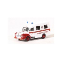 1/76 VEHICULES DE SECOURS BEDFORD J1 AMBULANCE DUNDER FIRE SERVICE-OXFORD76BED007
