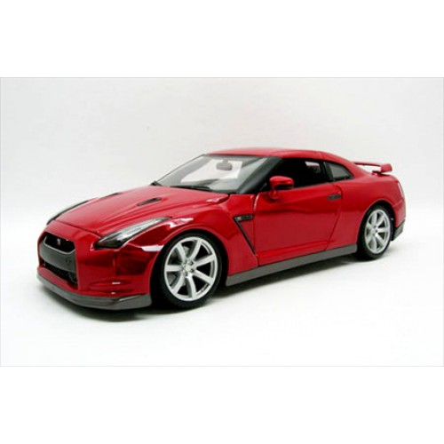 1 18 voiture miniature de collection nissan gtr rouge buragobur11030r vente de voitures. Black Bedroom Furniture Sets. Home Design Ideas