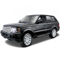 1/18 VEHICULE 4X4 MINIATURE DE COLLECTION LAND ROVER RANGE ROVER SPORT NOIRE-BURAGOBUR12069