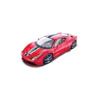 1/18 VOITURE MINIATURE DE COLLECTION FERRARI 458 SPECIALE ROUGE-BBURAGO16002RD