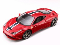 1/18 VOITURE MINIATURE DE COLLECTION Ferrari 458 speciale rouge-BURAGOBUR16903
