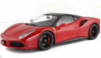 1/18 VOITURE MINIATURE DE COLLECTION Ferrari 488 GTB rouge (version luxe)BURAGOBUR16905R