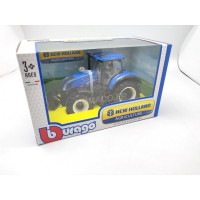 1/32 TRACTEUR AGRICOLE MINIATURE NEW HOLLAND T7.315-BBURAGO44066