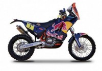 1/18 Motocross MINIATURE DE COLLECTION MOTO KTM 450 rallye Dakar-BURAGOBUR51071