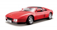 1/18 VOITURE MINIATURE DE COLLECTION FERRARI 348 TS ROUGE-BBURAGO16006RD