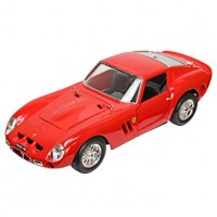 1/18 VOITURE MINIATURE DE COLLECTION FERRARI 250 GTO 1962 ROUGE-série premium-BBURAGO16602RD
