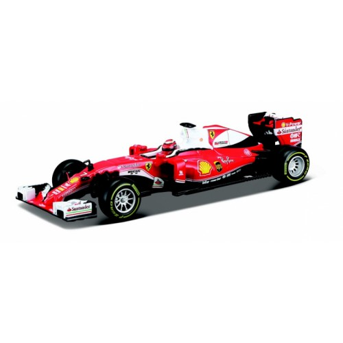 1 43 voiture miniature formule 1 ferrari sf16h avec pilote vettel 2016 buragobur36804 vente. Black Bedroom Furniture Sets. Home Design Ideas
