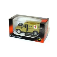 1/43 LAND VEHICULES DE SECOURS AMBULANCE LAND ROVER SERIES III 109 ARMY AMBULANCE DESERT-CARARAMACARAR037