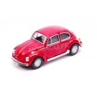 1/43 VW VOITURE MINIATURE DE COLLECTION VOLKSWAGEN COCCINELLE ROUGE-CARARAMACARAR10550