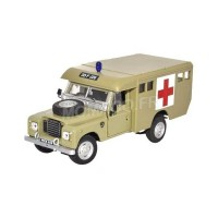 1/43 LAND VÉHICULES DE SECOURS AMBULANCE LAND ROVER SERIES III 109 ARMY AMBULANCE-CARARAMA CARAR036
