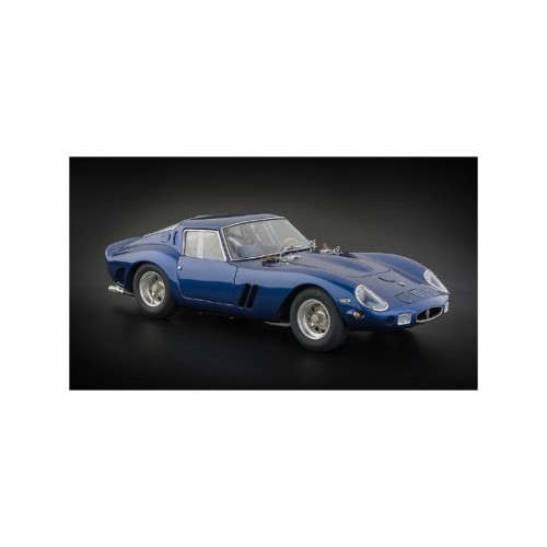1 18 voiture miniature de collection ferrari 250 gto 1962 bleu cmc152 vente de voitures. Black Bedroom Furniture Sets. Home Design Ideas