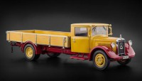 1/18 CAMION MINIATURE DE COLLECTION MERCEDES-BENZ LO2750 PLATEAU 1934-1938-CMC169