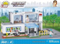 Jeux de construction Action Town - Hopital - 360 pcs - 4 figurines-COBICOB1766