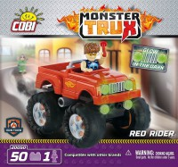 Jeux de construction Monster Trux rouge - 50 pcs 1 figurine-COBICOB20050