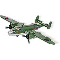 Jeux de construction FORCES DE L'ORDRE MILITAIRE AVION North American B-25C Mitchell - 500 pi-ces, 2 figurines-COBICOB5530