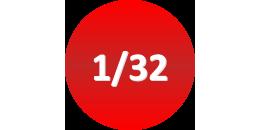 1/32 ème
