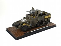 1/43 VEHICULE MILITAIRE MINIATURE T19-105MM HOWITZER MOTOR CARRIAGE-USA 1943-ATLAS
