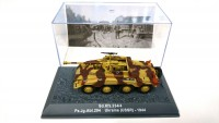1/72 MILITAIRE MINIATURE DE COLLECTION SD.KFZ.234/4 PZ.JG.ABT.294 UKRAINE (USSR)-1944-DEAGOSTINI