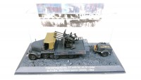 1/72 MILITAIRE FLAKVIERLING SD.KFZ.7/1 WITH SD.AH.51 TRAILER 24.PZ.DIV DON RIVER SECTOR(USSR)-1942-DEAGOSTINI