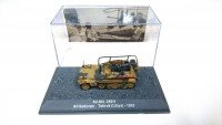 1/72 MILITAIRE MINIATURE DE COLLECTION SD.KFZ.250/5 AFRIKAKORPS TOBRUK (LIBYA)-1942-DEAGOSTINI