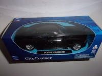 1/32 VOITURE MINIATURE DE COLLECTION DODGE CHARGER NOIR CITY CRUISER NEW RAY