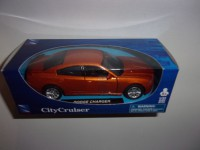1/32 VOITURE MINIATURE DE COLLECTION DODGE CHARGER CITY CRUISER NEW RAY