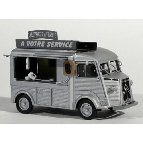 1 43 vehicule miniature utilitaires citroen type h magasin. Black Bedroom Furniture Sets. Home Design Ideas