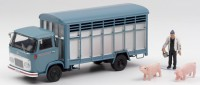 1/43 CAMION MINIATURE  HOTCHKISS DH80 COCHONIERE+FIGURINES-ELIGOR101537