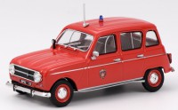 1/43 VEHICULE MINIATURE DE COLLECTION RENAULT 4L POMPIER BSPP 1970-ELIGOR101580