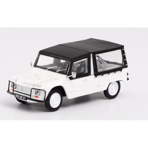 1 43 voiture miniature de collection citroen mehari 1980 blanche eligor101590 vente de. Black Bedroom Furniture Sets. Home Design Ideas