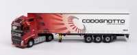 "1/43 CAMION VOLVO FH4 GLOBETROTTER TAUTLINER ""CODOGNOTTO""ELIGOR115874"