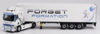 "1/43 CAMION MINIATURE DE COLLECTION RENAULT T SEMI ""FORGET FORMATION""ELIGOR116048"