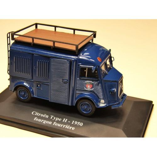 1 43 citroen type h 1950 fourgon fourriere vente de voitures miniatures pour collectionneurs. Black Bedroom Furniture Sets. Home Design Ideas