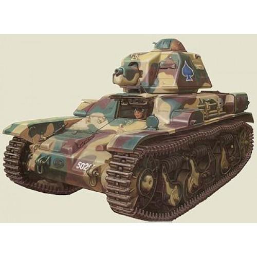 1 48 vehicule militaire renault r35 char leger francais gaso line mastermf48596r35 vente de. Black Bedroom Furniture Sets. Home Design Ideas