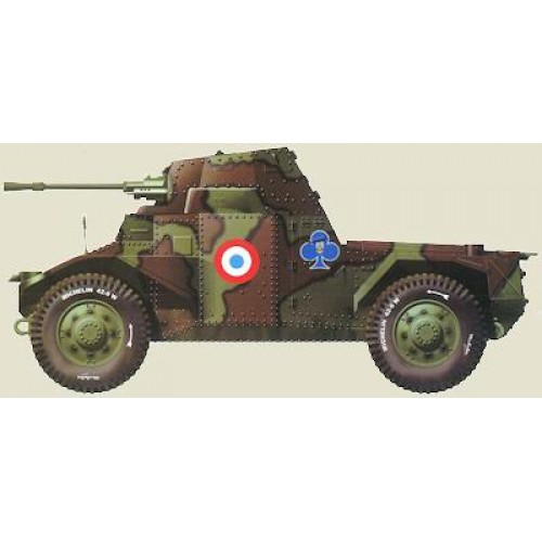 1 48 vehicule militaire amd panhard 178 automitrailleuse france 1940 gaso line mastermf48597. Black Bedroom Furniture Sets. Home Design Ideas